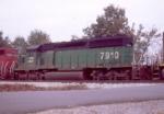 BN 7910 with a SB intermodal
