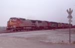 BNSF NB freight