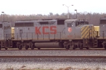 KCS 4702 on an EB freight