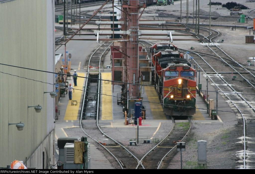 BNSF Northtown Yard Fuel Rack