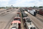 Miles of dead/stored locos