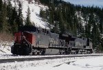 SP 347, 236, GE AC4400W helper set at Moffatt Tunnel