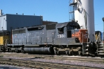 SP 7300, EMD SD40, at the C&NW Proviso Yard,