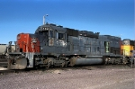 SP 8321, EMD SD40T-2, at the UP's Proviso Yard,