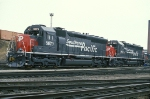 SP 8679 - 8678, EMD SD45, NEW MK SD40M-2 rebuilds, at BRC Clearing Yard,