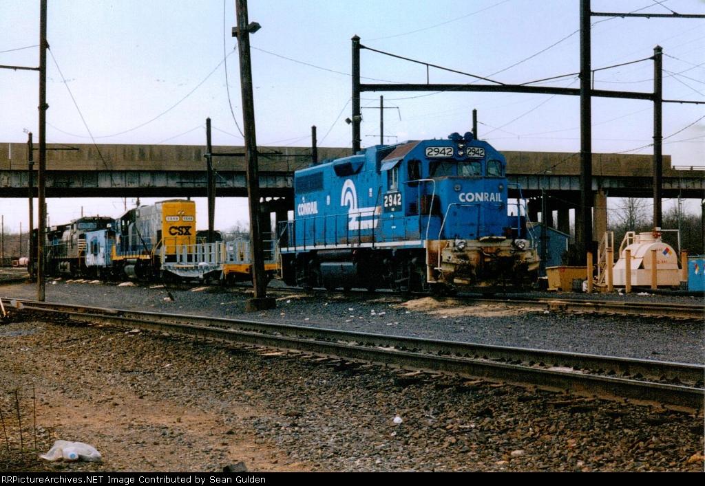NS 2942 & CSXT 1549
