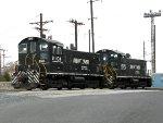 NS EMD SW1001's 2104 & 2105