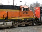 BNSF 4596 & CN 8929