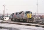 KCS SD40-3 6616
