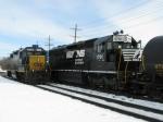 CSX 2624 & NS 1701