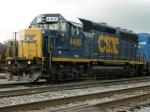 CSXT EMD GP40-2 4406
