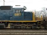 CSXT EMD SD40-2 8817