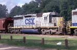 CSX 8015 on NB freight