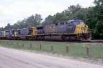 CSX 603, the brand new (back then) leading the not so new