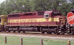 WC 6615 on a SB intermodal