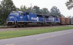 Even the juice train got into the spirit of the Conrail split!!!