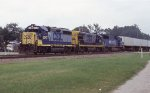 CSX 6240 leading the NB intermodal