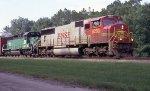 BNSF 8293 leading Sb autorack