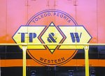 New TP&W logo