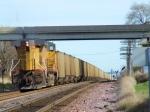 UP 5648 Coal Train Pusher