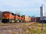 """BNSF 9224 WB """"Z"""" Train"""