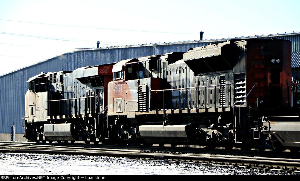 CN 2921 / CN 8001