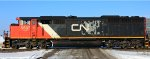 CN 5537 the only CNNA logo scheme for a SD60F