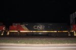 CN 2448 on m341 @ night