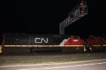 CN 5667 on m341 @ night