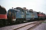 BAR 56 at WSOR Janesville rail yard