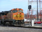 BNSF 510 Leads the SB local
