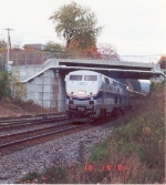 Westbound Lakeshore Limited