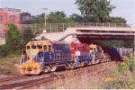 NECR pulls its train into Palmer