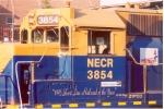 The cab of NECR GP38