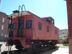 Utah Railway caboose
