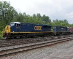 CSX #5471 and HLCX #8168