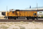 UPY 589 is the second of a pair of remote controlled GP15's based in downtown