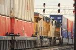Mid train DPU's on 10,000+ stack train destined for the Port of LA