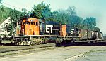 Black GTW SD40's