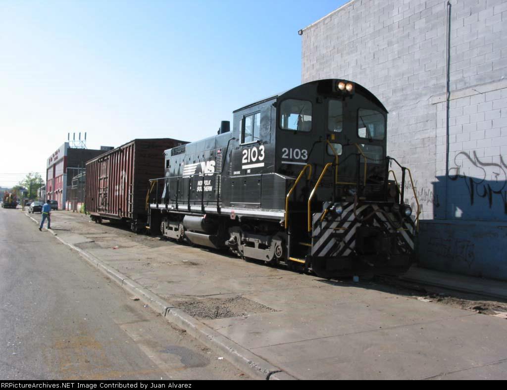 NS SW 1001 PRR 2103