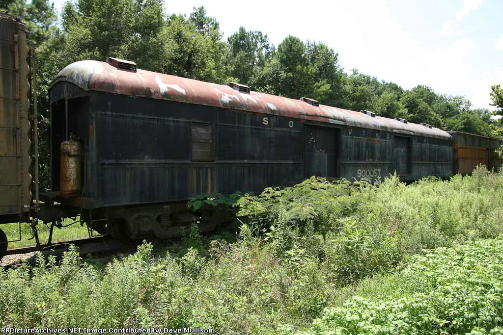 Southern baggage car