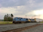 Q279 heads west with ex-LMS unit as the leader