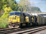 and the CSX #5218 heads for the B/A and points east.