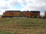 BNSF 5313 at Greenwood, NE