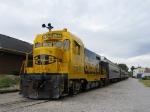 ATSF 2546 switching passenger train