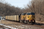 UP 7082 leads a Labadie coal load