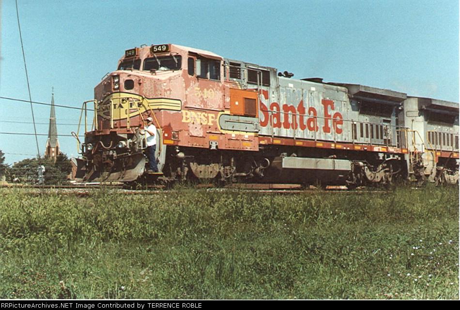 BNSF 549 (ex-ATSF)