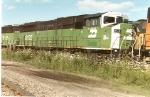 BNSF 8125 (ex-BN)