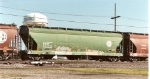 BNSF green 3-bay