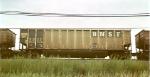 "BNSF coal hopper w/the large ""BNSF"""